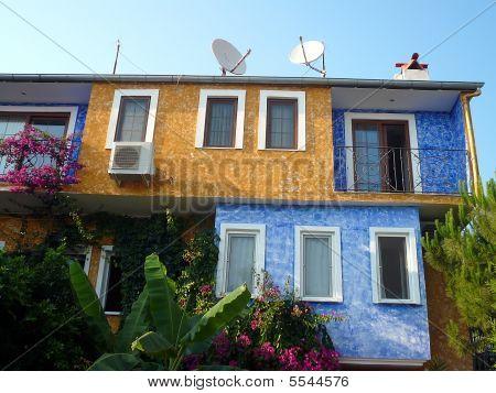 Multi Coloured Hotel