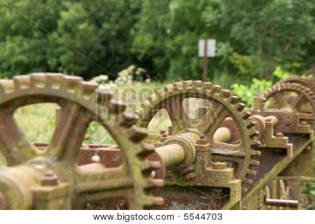 Row Of Cogs