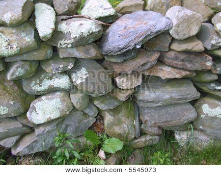 Stone Wall On Watson Farm
