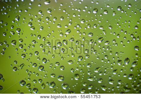 Drops On Window