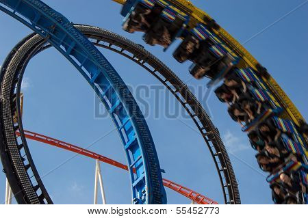Rollercoaster In A Looping