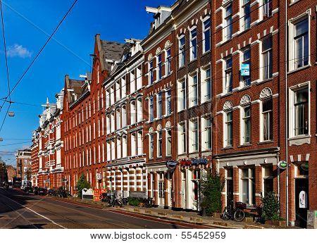 Mamixstraat In Amsterdam