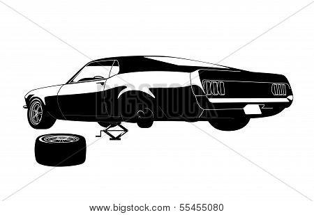 Muscle Car Tire Repair