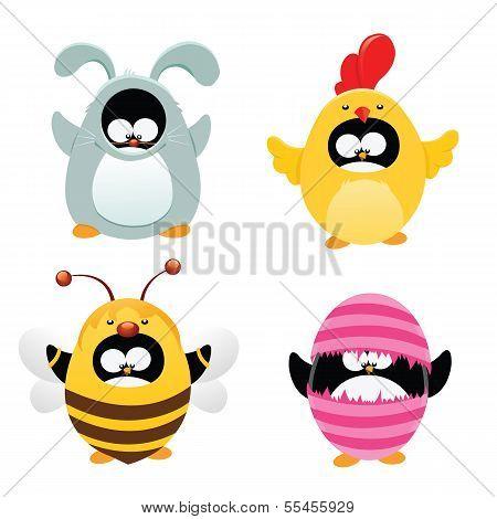 Easter Penguin Set