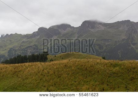 Hiking Next To Oberstdorf