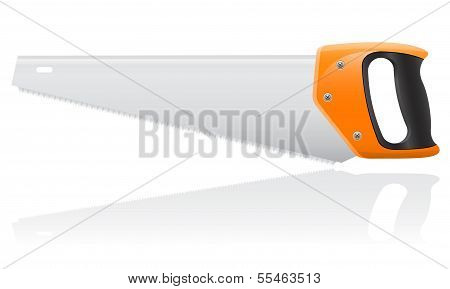 Tool Saw Vector Illustration