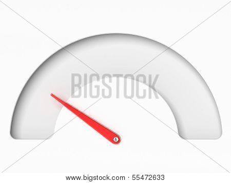 Empty Tachometer