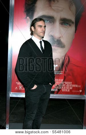 LOS ANGELES - DEC 12:  Joaquin Phoenix at the