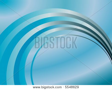 Abstract Background Of The Blue Rings