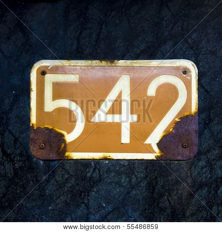 Number 542