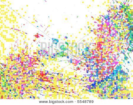 Colores de fondo abstracto