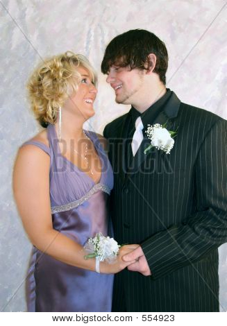 Couple At Cotillion