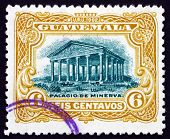 Postage Stamp Guatemala 1902 Temple Of Minerva