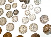 foto of shilling  - Mixed collection of vintage classic Australian coins - JPG