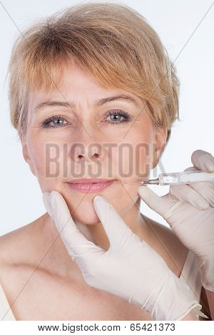 Botox Injection In Lips