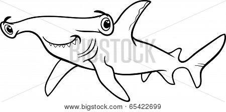 Hammerhead Shark Coloring Book
