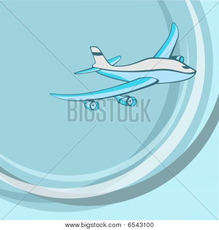 Little Blue Airplane.