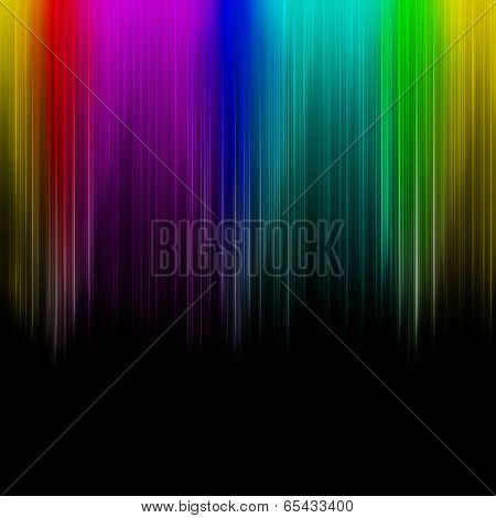 Rainbow Abstract Multicolored Striped Background.