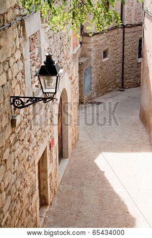 Street In Girona, Spain