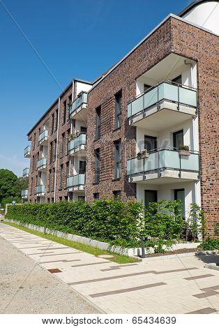 Modern block of flats