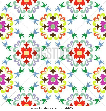 Seamless Floral Pattern 5