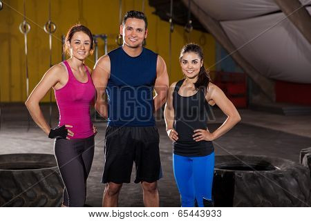 Happy Crossfit Instructors