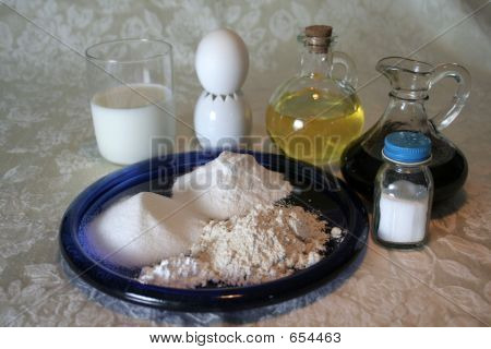 Wheatless Pancakes Ingredients