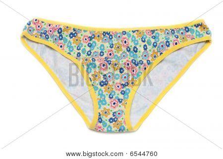 Feminine Underclothes, Color Panties