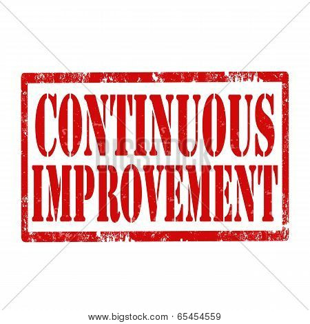 Continuous Improvement-stamp