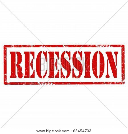 Recession-stamp