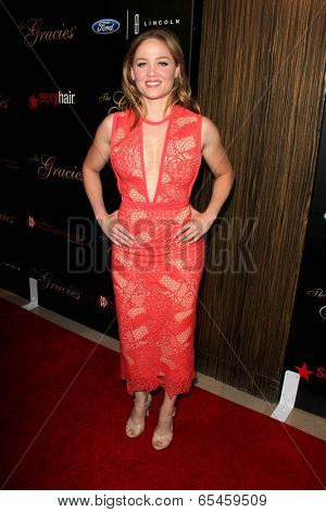 LOS ANGELES - MAY 20:  Erika Christensen at the 39th Annual Gracie Awards at Beverly Hilton Hotel on May 20, 2014 in Beverly Hills, CA