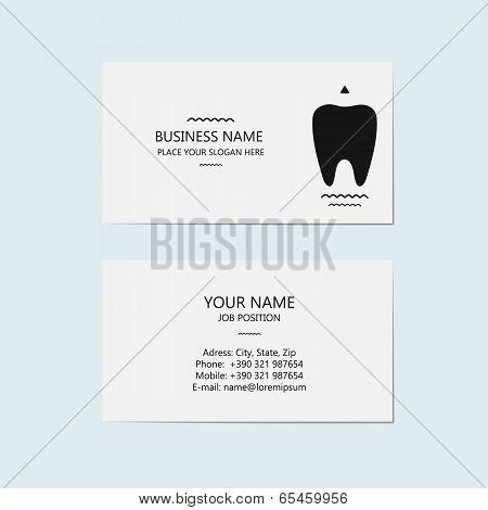 Design Option Card For Dentist