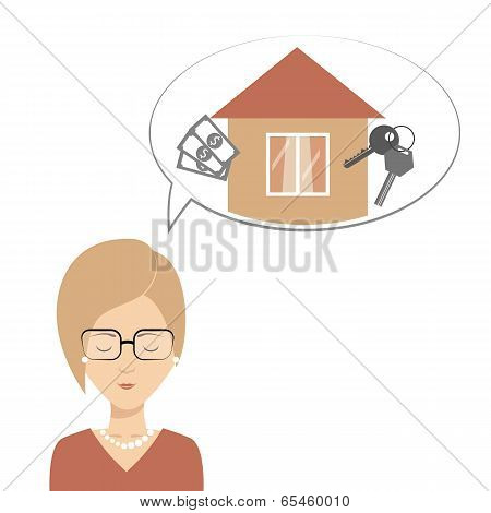 ?lever Girl Thinks About Mortgages