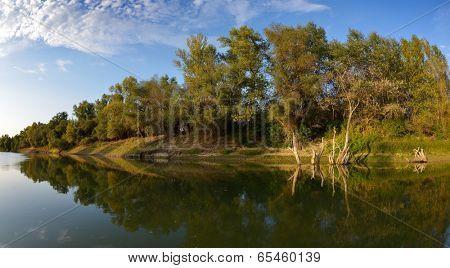 danube delta landscape