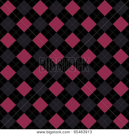 Black, Pink And Gray Argyle Pattern Repeat Background