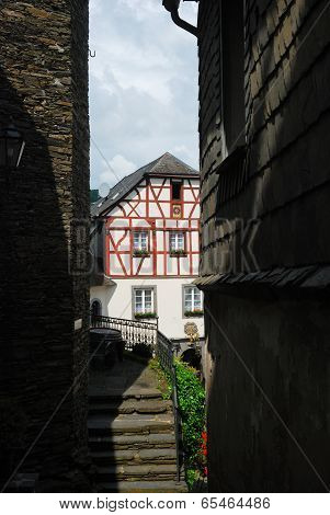 Old Steps In Lane In Beilstein