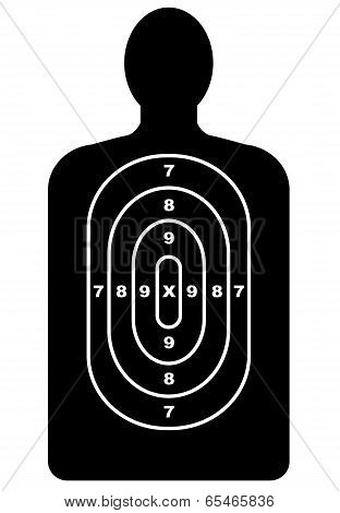 Human Shape Target