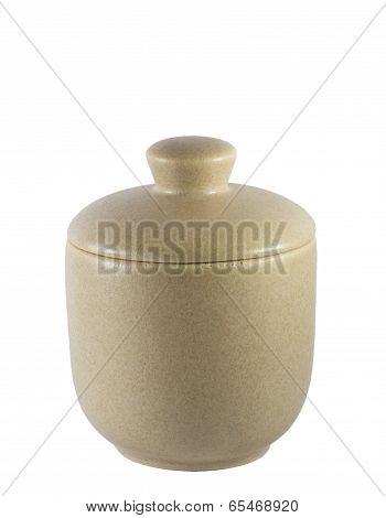 Ceramic Sugar Bowl.