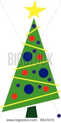Lopsided Christmas tree