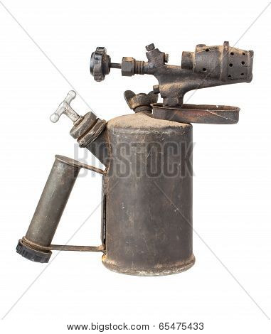 Old Rusty Blowtorch