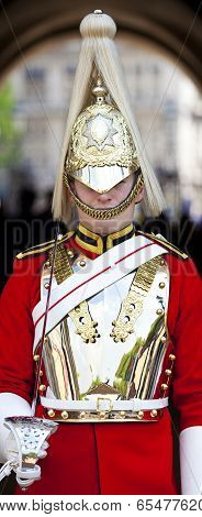 Horseguard At Horseguards Parade In London