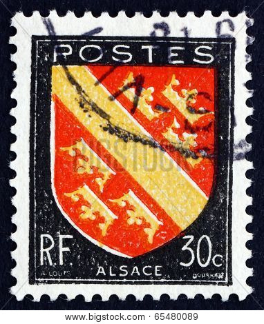 Postage Stamp France 1946 Arms Of Alsace