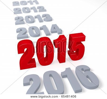 It's 2015's Time