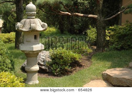 Asiatische Laterne Garten I