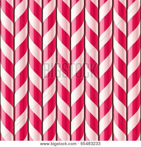 Candy cane seamless pattern
