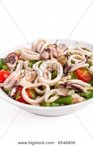 Bowl Of Seafood Salad