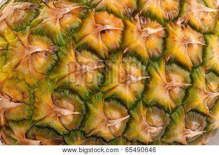 Ananas close-up
