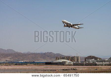 Israel, Eilat, Airliner