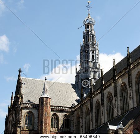 Bavo Church in Haarlem