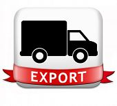 foto of export  - export international freight transportation and global trade logistics world economy exportation of products - JPG